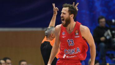 ЦСКА победил «Панатинаикос» в 3-м туре регулярного первенства Евролиги