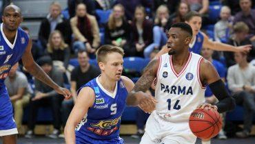 «Парма» переиграла «Калев» в матче Единой лиги ВТБ