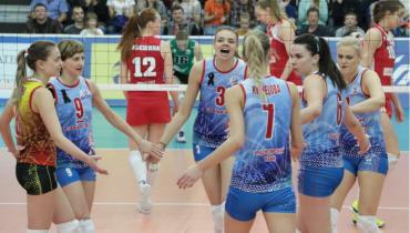 «Енисей» не смог пробиться в групповой этап женской волейбольной Лиги чемпионов