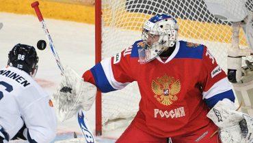 Российские хоккеисты уступили финнам в дебютном матче Кубка Карьяла
