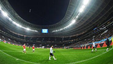 Сборная России в Москве уступила аргентинским футболистам