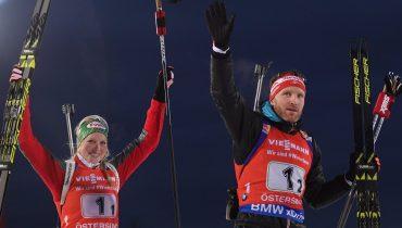 Россияне восьмые в одиночной смешанной эстафете по биатлону в Швеции