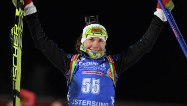 Российские биатлонистки медалей на этапе Кубка мира не завоевали