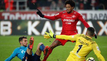 «Спартак» в Москве одолел «Зенит» в центральном матче 18-го тура РФПЛ