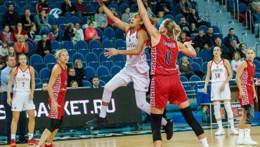 «Спарта энд К» победила МБА в 5-м туре женского Кубка Европы