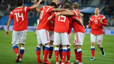 Сборная России по футболу сыграла вничью с Испанией