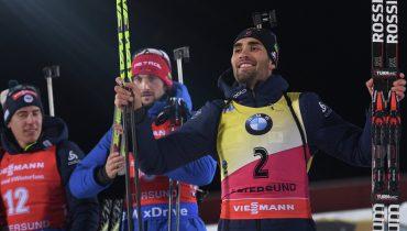 Антон Шипулин стал 8-м в гонке преследования