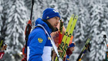 Биатлонист Антон Шипулин завоевал «бронзу» в гонке преследования