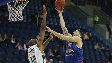 Баскетболисты ЦСКА дома победили «Калев»