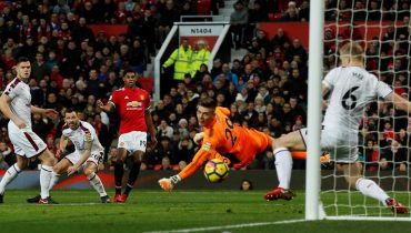 «Манчестер Юнайтед» вырвал ничью в матче с «Бёрнли» благодаря дублю Джесси Лингарда