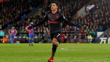 «Арсенал» на выезде одолел «Кристал Пэлас» благодаря дублю Алексиса Санчеса