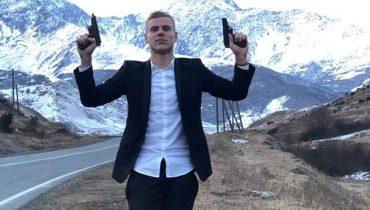Александр Кокорин пострелял из пистолета на кавказской свадьбе