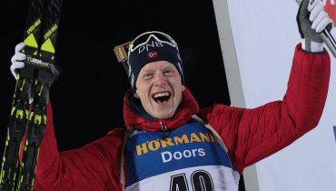 Биатлонист Антон Бабиков стал 5-м в индивидуальной гонке