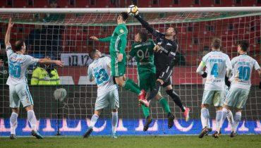 «Зенит» оступился в матче 20-го тура РФПЛ против «Ахмата»