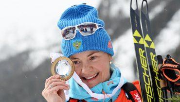 Российские биатлонисты победили в «Рождественской гонке»