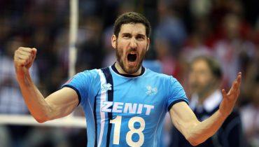 Казанский «Зенит» с победы стартовал в волейбольной Лиге чемпионов
