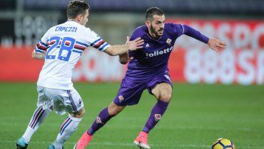 «Фиорентина» пробилась в 1/4 финала Кубка Италии