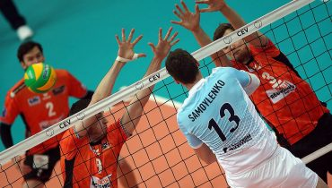 Волейбольный «Зенит» победил во втором матче Лиги чемпионов подряд