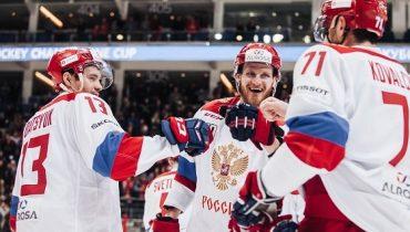В состав сборной России по хоккею на Кубок Первого канала вошли 25 игроков СКА и ЦСКА