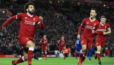 Дубль Мохамеда Салаха принес «Ливерпулю» победу над «Лестер Сити»