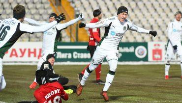 «Краснодар» в матче 20-го тура РФПЛ переиграл «Амкар»