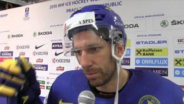 Капитан сборной Швеции недоволен судейством в матче с Россией