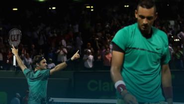 ATP признала матч Федерера и Кирьоса в Майами лучшим в 2017 году