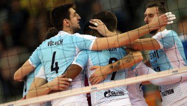 Волейболисты «Зенита» вышли в 1/2 финала клубного чемпионата мира