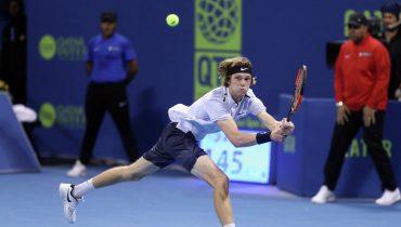 Теннисист Андрей Рублев пробился в финал престижного турнира в Дохе