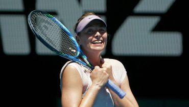 Мария Шарапова вышла в третий круг Australian Open