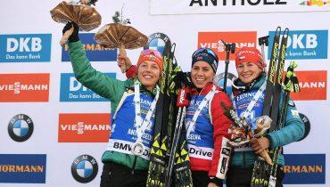 Екатерина Юрлова-Перхт стала шестой в спринте