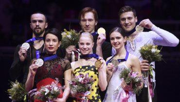 Российские фигуристы забрали все медали чемпионата Европы в парном катании