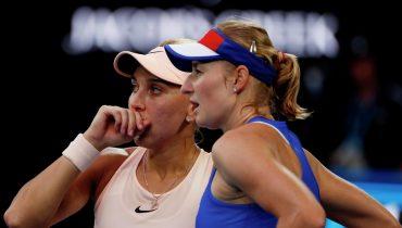 Елена Веснина и Екатерина Макарова уступили в финале Australian Open