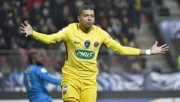 ПСЖ пробился в 1/16 финала Кубка Франции