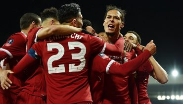 «Ливерпуль» взял верх над «Эвертоном» за счет гола ван Дейка