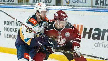 Дубль Шона Коллинза помог «Сочи» переиграть хоккеистов рижского «Динамо»