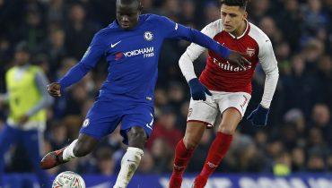 «Челси» и «Арсенал» сыграли вничью в первой полуфинальной игре Кубка английской лиги