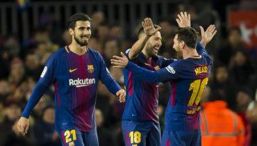 «Барселона» забила пять голов в ворота «Сельты»