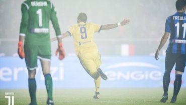 «Ювентус» победил «Атланту» в первой полуфинальной встрече Кубка Италии