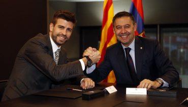 Жерар Пике продлил соглашение с «Барселоной»