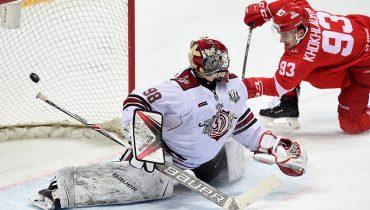 Рижское «Динамо» проиграло седьмой матч подряд в КХЛ