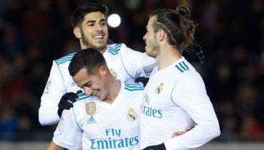 «Реал» разобрался с «Нумансией» в первом матче 1/8 финала Кубка Испании
