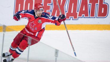 ЦСКА обыграл «Йокерит» в овертайме благодаря голу Валерия Ничушкина