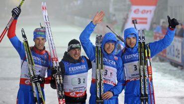 Российская биатлонная сборная осталась ни с чем в гонках преследования