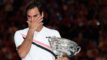 Роджер Федерер установил новый рекорд