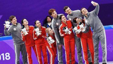Российские фигуристы остановились в шаге от золота в командном турнире