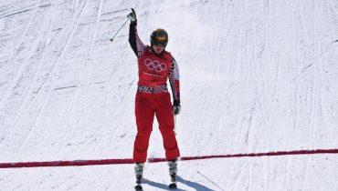 Сергей Ридзик стал третьим в соревнованиях фристайлистов по ски-кроссу