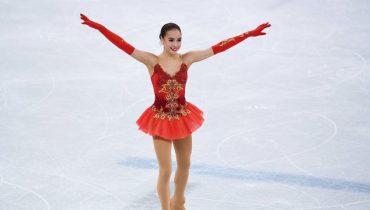 Алина Загитова завоевала первое российское золото в Пхенчхане, Евгения Медведева осталась с серебром
