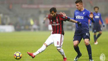 «Милан» сыграл вничью с «Лацио» в Кубке Италии