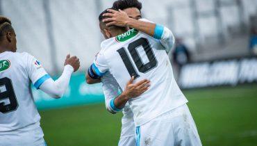 «Марсель» забил 9 мячей в игре Кубка Франции